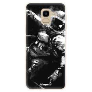 Silikonové pouzdro iSaprio (mléčně zakalené) Astronaut 02 na mobil Samsung Galaxy J6