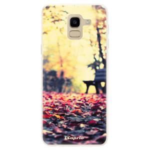 Silikonové pouzdro iSaprio (mléčně zakalené) Bench 01 na mobil Samsung Galaxy J6