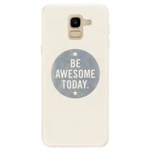 Silikonové pouzdro iSaprio (mléčně zakalené) Awesome 02 na mobil Samsung Galaxy J6