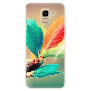 Silikonové pouzdro iSaprio (mléčně zakalené) Podzim 02 na mobil Samsung Galaxy J6