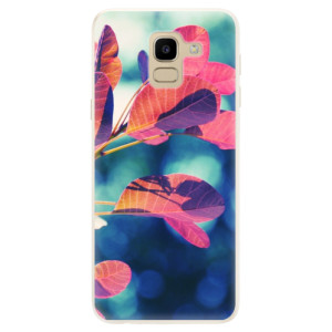 Silikonové pouzdro iSaprio (mléčně zakalené) Podzim 01 na mobil Samsung Galaxy J6