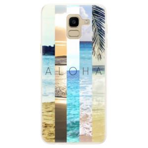 Silikonové pouzdro iSaprio (mléčně zakalené) Aloha 02 na mobil Samsung Galaxy J6