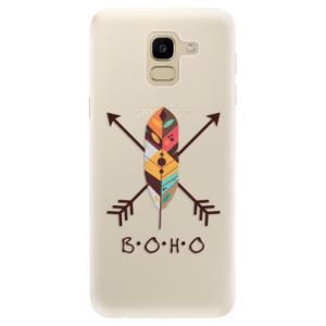 Silikonové pouzdro iSaprio (mléčně zakalené) BOHO na mobil Samsung Galaxy J6