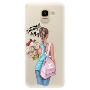 Silikonové pouzdro iSaprio (mléčně zakalené) Beautiful Day na mobil Samsung Galaxy J6