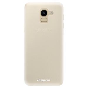 Silikonové pouzdro iSaprio 4Pure mléčné bez potisku na mobil Samsung Galaxy J6