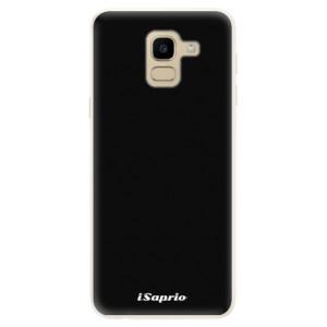Silikonové pouzdro iSaprio 4Pure černé na mobil Samsung Galaxy J6