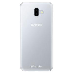 Silikonové pouzdro iSaprio 4Pure mléčné bez potisku na mobil Samsung Galaxy J6 Plus