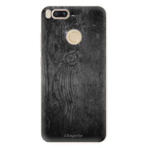 Silikonové pouzdro iSaprio (mléčně zakalené) Black Wood 13 na mobil Xiaomi Mi A1