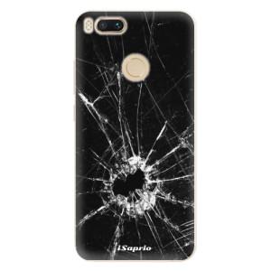 Silikonové pouzdro iSaprio (mléčně zakalené) Broken Glass 10 na mobil Xiaomi Mi A1
