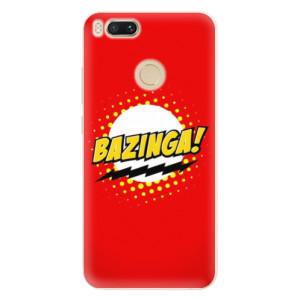 Silikonové pouzdro iSaprio (mléčně zakalené) Bazinga 01 na mobil Xiaomi Mi A1