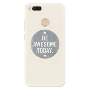 Silikonové pouzdro iSaprio (mléčně zakalené) Awesome 02 na mobil Xiaomi Mi A1