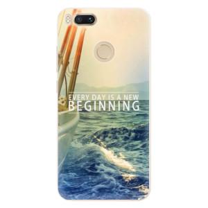 Silikonové pouzdro iSaprio (mléčně zakalené) Beginning na mobil Xiaomi Mi A1