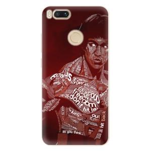 Silikonové pouzdro iSaprio (mléčně zakalené) Bruce Lee na mobil Xiaomi Mi A1