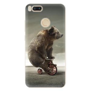 Silikonové pouzdro iSaprio (mléčně zakalené) Medvěd 01 na mobil Xiaomi Mi A1