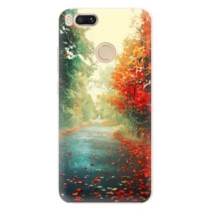Silikonové pouzdro iSaprio (mléčně zakalené) Podzim 03 na mobil Xiaomi Mi A1