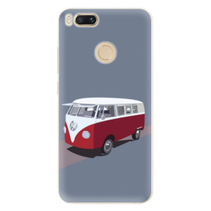 Silikonové pouzdro iSaprio (mléčně zakalené) VW Bus na mobil Xiaomi Mi A1