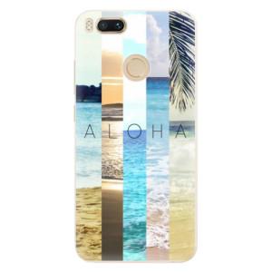 Silikonové pouzdro iSaprio (mléčně zakalené) Aloha 02 na mobil Xiaomi Mi A1