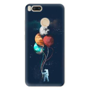Silikonové pouzdro iSaprio (mléčně zakalené) Balónky 02 na mobil Xiaomi Mi A1