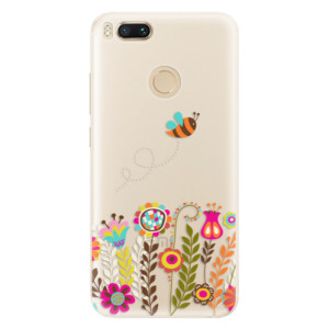 Silikonové pouzdro iSaprio (mléčně zakalené) Včelka Pája 01 na mobil Xiaomi Mi A1
