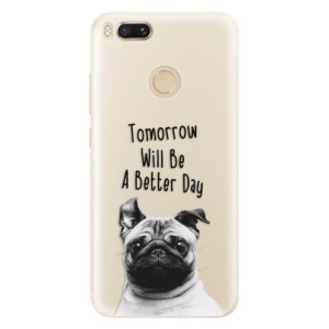 Silikonové pouzdro iSaprio (mléčně zakalené) Better Day 01 na mobil Xiaomi Mi A1