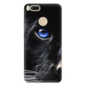 Silikonové pouzdro iSaprio (mléčně zakalené) Black Puma na mobil Xiaomi Mi A1