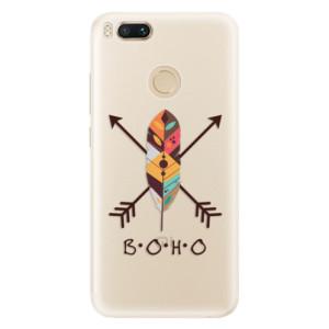 Silikonové pouzdro iSaprio (mléčně zakalené) BOHO na mobil Xiaomi Mi A1