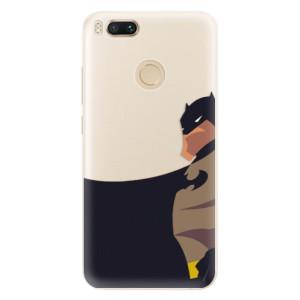 Silikonové pouzdro iSaprio (mléčně zakalené) BaT Komiks na mobil Xiaomi Mi A1