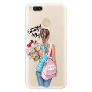 Silikonové pouzdro iSaprio (mléčně zakalené) Beautiful Day na mobil Xiaomi Mi A1