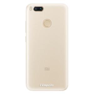Silikonové pouzdro iSaprio 4Pure mléčné bez potisku na mobil Xiaomi Mi A1