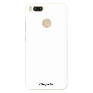 Silikonové pouzdro iSaprio 4Pure bílé na mobil Xiaomi Mi A1