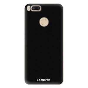 Silikonové pouzdro iSaprio 4Pure černé na mobil Xiaomi Mi A1