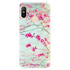 Silikonové pouzdro iSaprio (mléčně zakalené) Blossom 01 na mobil Xiaomi Mi A2 Lite