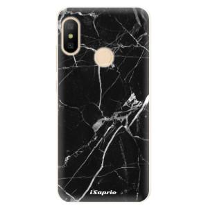 Silikonové pouzdro iSaprio (mléčně zakalené) Black Marble 18 na mobil Xiaomi Mi A2 Lite
