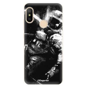Silikonové pouzdro iSaprio (mléčně zakalené) Astronaut 02 na mobil Xiaomi Mi A2 Lite