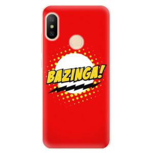 Silikonové pouzdro iSaprio (mléčně zakalené) Bazinga 01 na mobil Xiaomi Mi A2 Lite