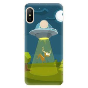 Silikonové pouzdro iSaprio (mléčně zakalené) Ufouni 01 na mobil Xiaomi Mi A2 Lite
