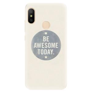Silikonové pouzdro iSaprio (mléčně zakalené) Awesome 02 na mobil Xiaomi Mi A2 Lite