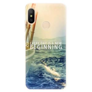 Silikonové pouzdro iSaprio (mléčně zakalené) Beginning na mobil Xiaomi Mi A2 Lite