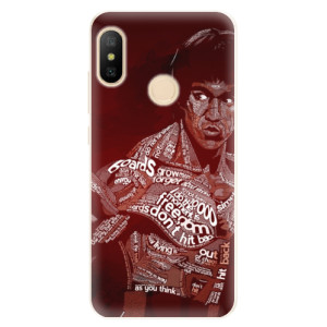 Silikonové pouzdro iSaprio (mléčně zakalené) Bruce Lee na mobil Xiaomi Mi A2 Lite
