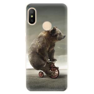 Silikonové pouzdro iSaprio (mléčně zakalené) Medvěd 01 na mobil Xiaomi Mi A2 Lite