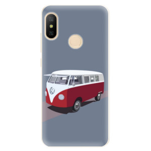Silikonové pouzdro iSaprio (mléčně zakalené) VW Bus na mobil Xiaomi Mi A2 Lite