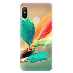Silikonové pouzdro iSaprio (mléčně zakalené) Podzim 02 na mobil Xiaomi Mi A2 Lite