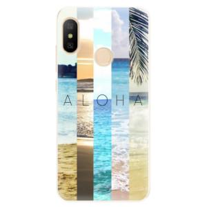 Silikonové pouzdro iSaprio (mléčně zakalené) Aloha 02 na mobil Xiaomi Mi A2 Lite