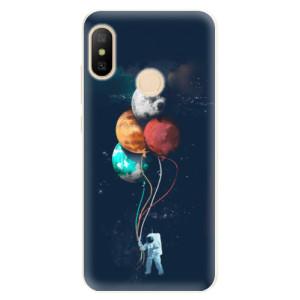 Silikonové pouzdro iSaprio (mléčně zakalené) Balónky 02 na mobil Xiaomi Mi A2 Lite