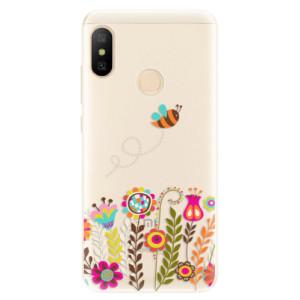 Silikonové pouzdro iSaprio (mléčně zakalené) Včelka Pája 01 na mobil Xiaomi Mi A2 Lite
