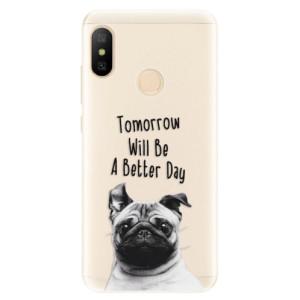 Silikonové pouzdro iSaprio (mléčně zakalené) Better Day 01 na mobil Xiaomi Mi A2 Lite