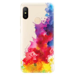 Silikonové pouzdro iSaprio (mléčně zakalené) Color Splash 01 na mobil Xiaomi Mi A2 Lite