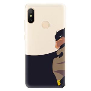 Silikonové pouzdro iSaprio (mléčně zakalené) BaT Komiks na mobil Xiaomi Mi A2 Lite