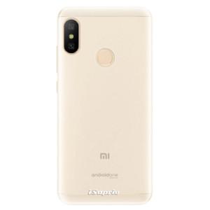 Silikonové pouzdro iSaprio 4Pure mléčné bez potisku na mobil Xiaomi Mi A2 Lite