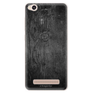 Silikonové pouzdro iSaprio (mléčně zakalené) Black Wood 13 na mobil Xiaomi Redmi 4A